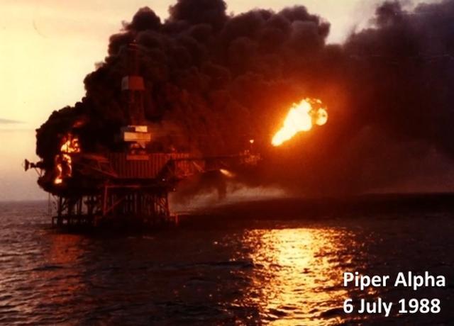 Взрыв нефтяной платформы Piper Alpha